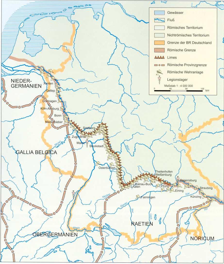 Learning activities 4444 and 44 - History: The Roman EmpireGrade 44 - Bonn Karte Deutschland